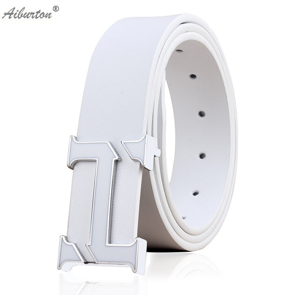 Brand Man Belt Fashion big h buckle Strap designer belts men high quality luxury Style