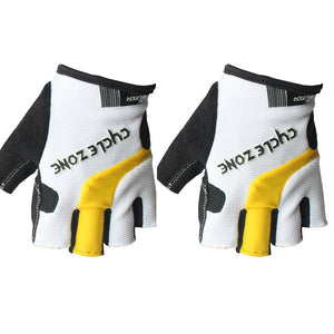 Pro Cycling Camping Hiking Gel Half Finger Gloves Bicycle Cycling Silicone Half Finger Fingerless Gloves Protecter