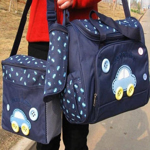 Xiniu 4pcs Baby Changing Diaper Nappy Bag Pad Mummy Mother Multifunctional Handbag bolsa feminina para mujer #GHYW