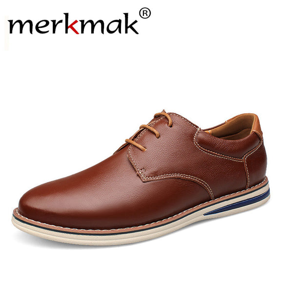 Large Size 47 Brand Design Men Shoes Genuine Leather Mens Casual Shoes Luxury Spring