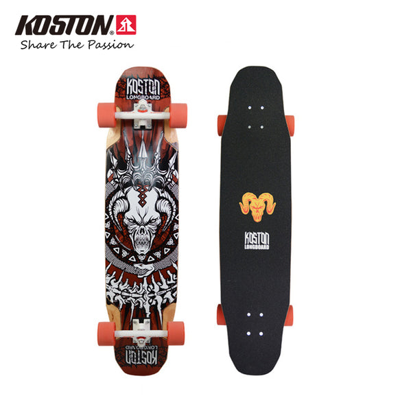 KOSTON Professional Multifunction Longboard Completes Vicious Cycle 40inch Skateboard
