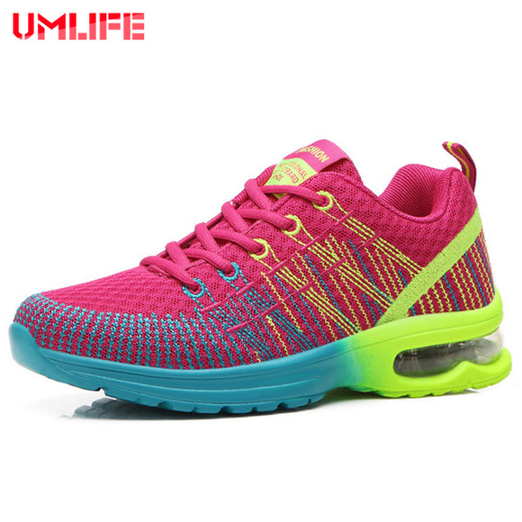 Women's Cushioning Running Shoes Breathable Anti-Slippery Sport Shoes..
