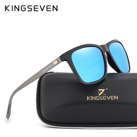 KINGSEVEN New Fashion Brand Designer Aluminum TR90 Sunglasses Polarized Mirror