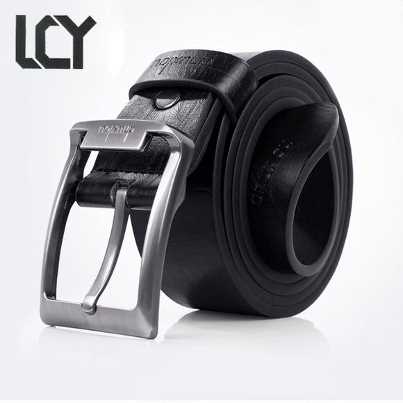 Cinturones Hombre Marca Famosa Luxury PU Leather Belt Men Cowboy Fashion Business
