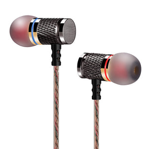 KZ ED2 Original White studio Earphone Gld High Quality Monitor Earphone HD HIFI Active