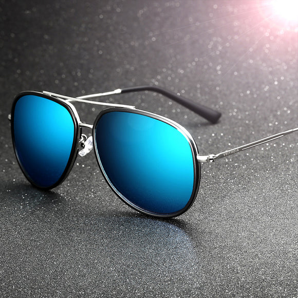 HD Vision Aluminum Magnesium Men's Sunglasses Polarized Coating Mirror Sun Glasses Men Oculos Male Eyewear Accessories