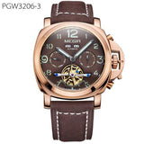 Luxury Automatic Mechanical Watch Original Men Watch Top Brand Leather Military Watches