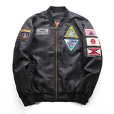 77City Killer New Badge Flight Fashion Jackets Sportswear Pilot Bomber Jacket J2787