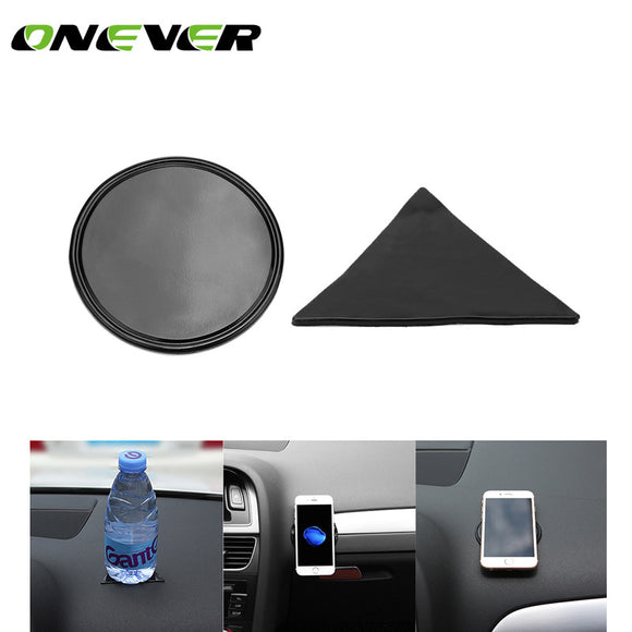 Mini Anti-Slip Car Pad Dashboard Mat Sticky Gel Pad Non-Slip Mounting Pad for