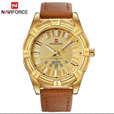 2018 NEW NAVIFORCE Luxury Brand Men's Quartz Watches Men Fashion Casual Leather