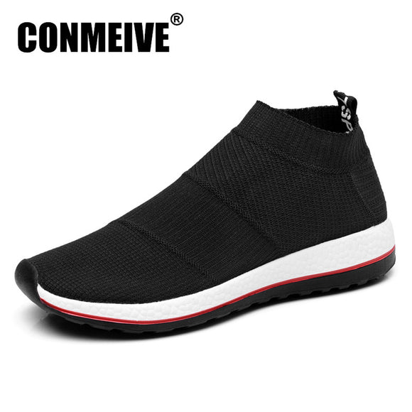 Hot Sale Breathable Men Shoes Mesh (air Mesh) Superstar Sneakers Light Flats Mens