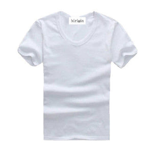 Mens V neck Short Sleeve T Shirt Tops Solid White Black Gray Slim Fit Muscle Casual Tee