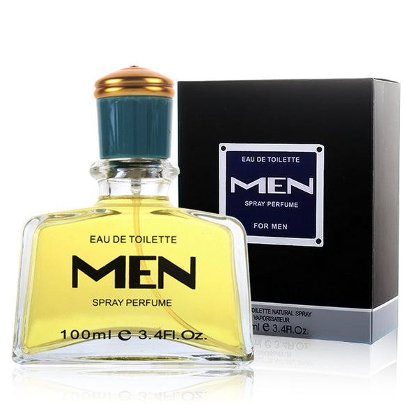 100ML High capacity Men Perfume Bottle Long Lasting Fragrance Spray Men's Cologne