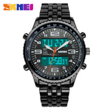 2018 mens luxury watches top brand Quartz Digital Watch LED Display black stop watch