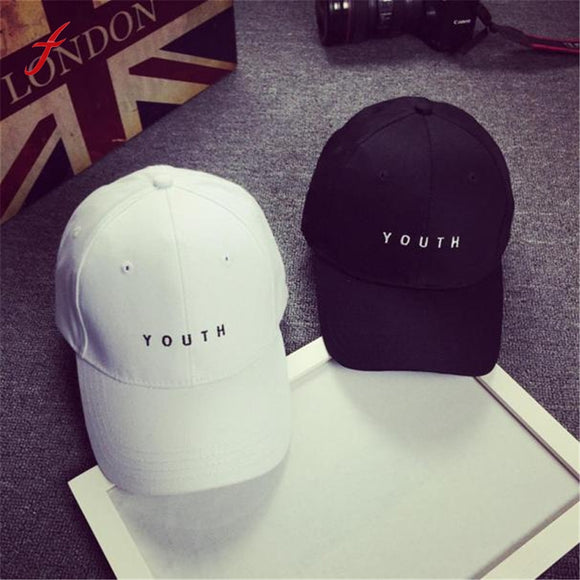 Feitong Fashion Cap Women Men Summer Cotton Caps Women Letter Solid Adult baseball