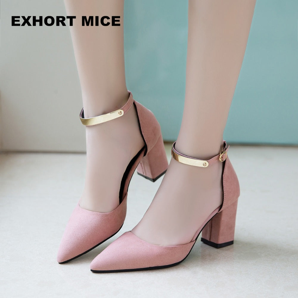 Summer Women Shoes Pointed Toe Pumps Shoes High Heels Boat