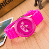 13 Colors Quartz Ladies Dress Watches Female Males Sports Casual Wristwatch Silicone Band