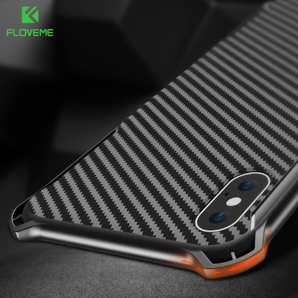 FLOVEME Shockproof Case For iPhone X 10 Luxury Bumper Phone Cases For iPhone 8 7 6 6s Plus