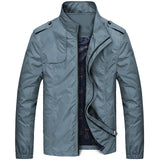 Bingchenxu Solid Color Jacket Men Brand Jackets Fashion Trend Slim Fit Casual Mens