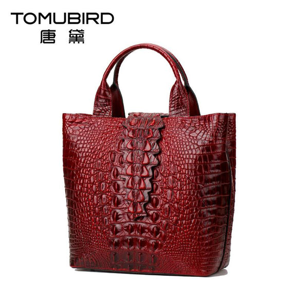2017 New luxury handbags women bag designer quality genuine leather fashion alligator