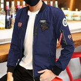 MISNIKI 2018 new arrivals spring men military jacket outwear slim fit pilot bomber jacket