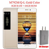 "Original Meizu Pro 7 4G LTE Cell Phone Octa Core 5.2"" 1080P AMOLED Screen 4GB 64GB 128GB Dual Rear 12.0MP Fast Charger"