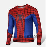 SUPER Hero Comics Marvel X-Men Deadpool T shirt Costume Superhero Fitness Camisetas Masculinas Quick Drying