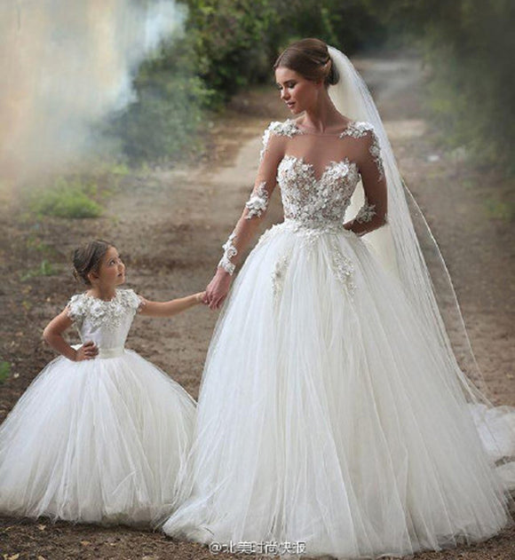 Mother Daughter Dresses for Weddings Family Lookmommy and Me Outfits Dress