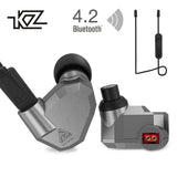 KZ ZS5 Bluetooth Headphone Wireless Sport Noise Canceling Earphone Amplifer with Mic