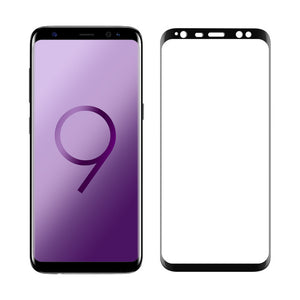 Pzoz tempered glass For samsung galaxy s9 screen protector 3D full curved edge for galaxy s9 plus glass film s9plus s 9 phone