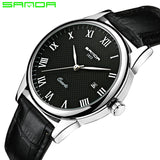 2018 SANDA Fashion Men's Watch Waterproof Mens Watches Top Brand Luxury Clock