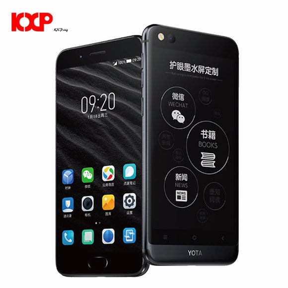 Yota Yotaphone 3 4G Only English Octa Core Android7.1 4G+64G Dual Scree Smartphone 5.5