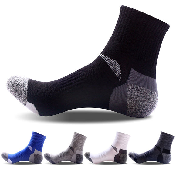 2018 HOT SALE fashion winter Cotton Casual Men crew socks high quality Brand male Sporting
