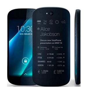 "Yota Yotaphone 2 4G Dual Scree Smartphone 5"" HD screen 4.7"" Touch E Ink Snapdragon 800 Wireless Charger 2G+32G mobile phone"