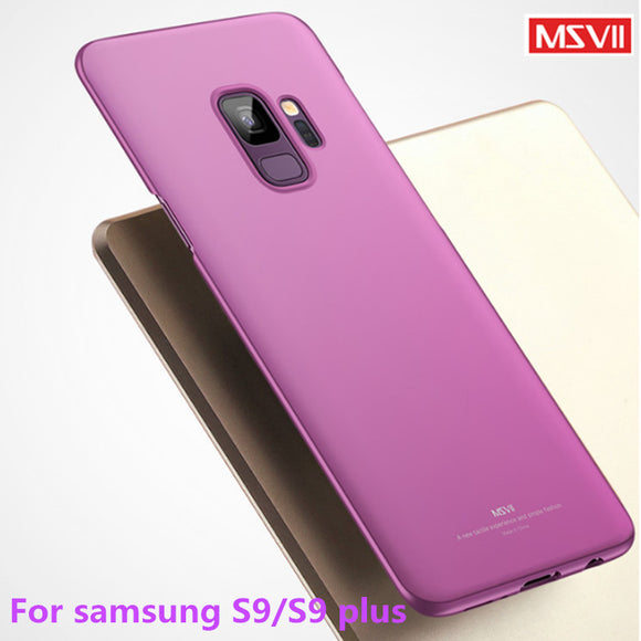 For samsung galaxy S9 case cover MSVII luxury simple stylish Back cover Case For samsung
