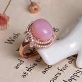 4.33ct Opal Jewelry 925 Silver Christmas Gift Opal Necklaces/Rings/Earrings For Women Natural Pink Opal Necklace Jewelry sets