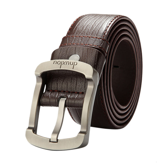 Wholesale High quality Men's Casual Faux Leather Belt Buckle Waist Strap Belts Men Belt for gift #0212