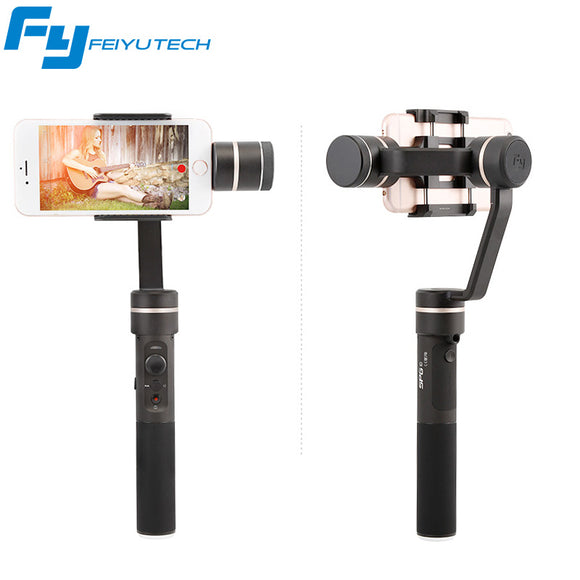 FeiyuTech SPG Handheld Splash Proof & SPG-c 3 axis Gimbal Stabilizer for iPhone
