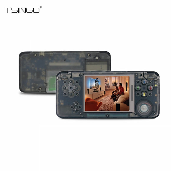 TSINGO 3.0 Inch 64Bit Retro Game Console Built-in 818 Different Games Support Many Formats AV Output Retro Handheld Game Player