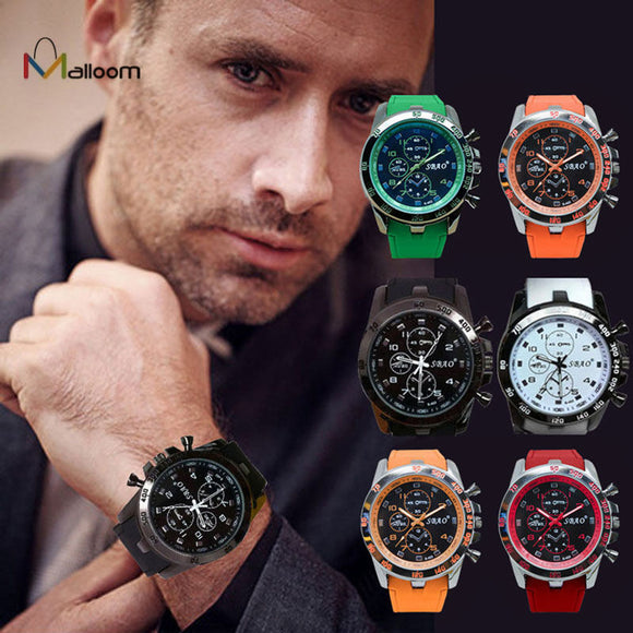 2018 Mens Watches Top Brand Luxury Sport Analog Quartz Modern Men Fashion Wrist Watch #YH18