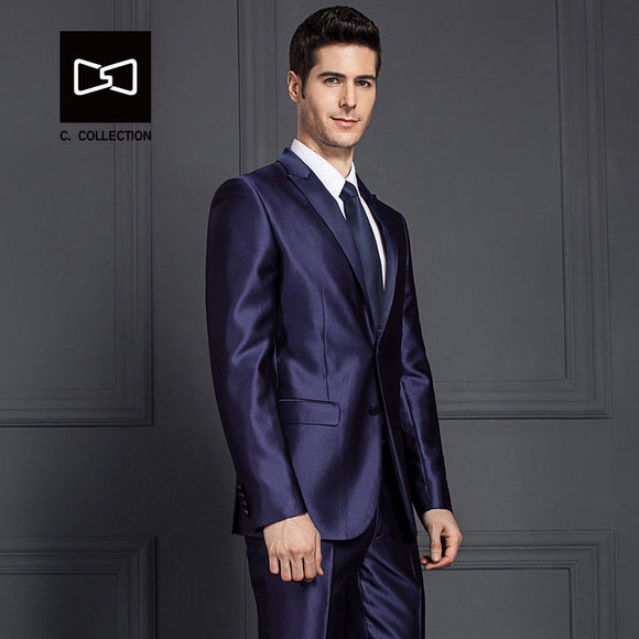 2018 Men Groom Wedding Suit Slim fit formal men suit Latest Coat Pant Designs Fashion
