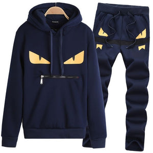 Men Sportswear Set Men's Active Tracksuits hoodies&Sweatshirts sportsuit Mens Jacket Hooded