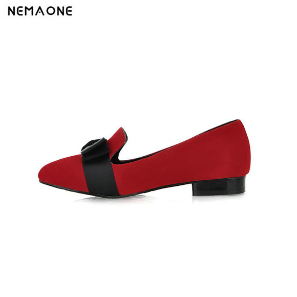 2019 new arrival fashion women single shoes brand spring summer flat heel work shoes woman