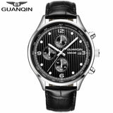 2018 Men Watches Top Brand Luxury GUANQIN Military Sport Luminous Wristwatch