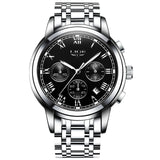 2018 New Watches Men Luxury Brand LIGE Chronograph Men Sports Watches