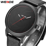 2018 Top Brand Luxury WEIDE Fashion Casual Man Mens Watches Sport Leather Business