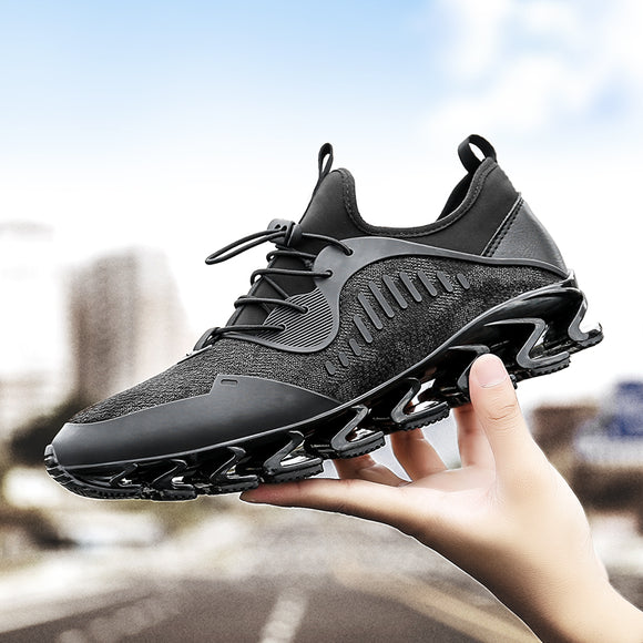 Plus Size Men Running Shoes Bow-Blade Outdoor Sports Shoes for Men