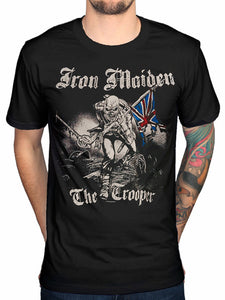 Vintage Tee Shirts Very Cute Iron Maiden Sketched Trooper T Shirt Brave New World Fear Of The Dark Design T Shirt Fashion Tees