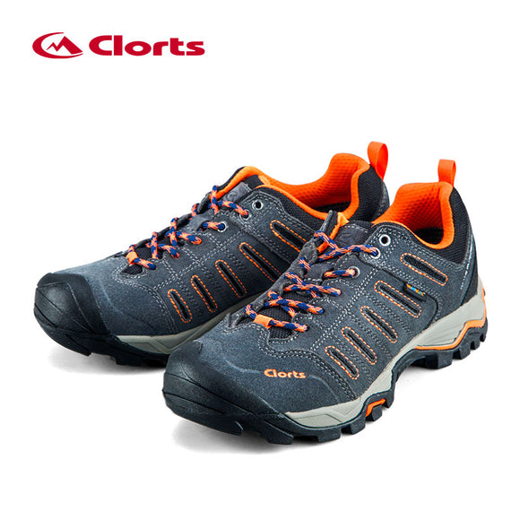 2018 Clorts Mens Hiking Shoes Uneebtex Waterproof Hiking Boots Rubber Outdoor Shoes
