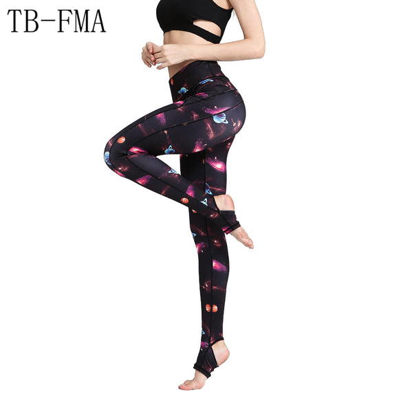 Yoga Pants Sports Fitness Leggings Women New Sports Tight Mesh Yoga Leggings Pants Women Running Tights for Women Free Shipping